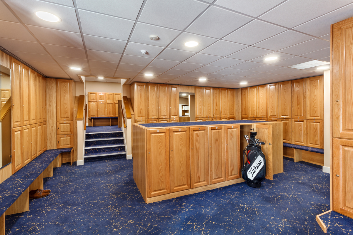 Pannal Golf Club Refurbishment-Changing Rooms
